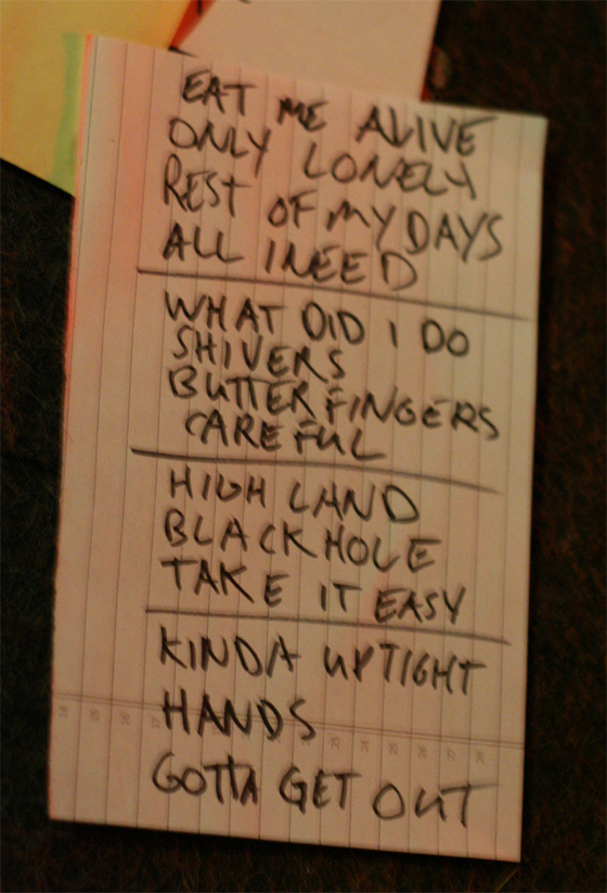 Gentleman Jesse & His Men's setlist