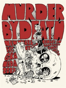 poster - murder by death nye