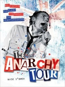 book cover - anarchy tour