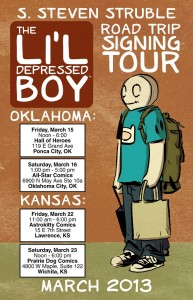 ldb road trip poster
