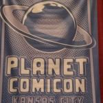 Planet Comicon banner.