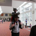 The littlest cosplayer.