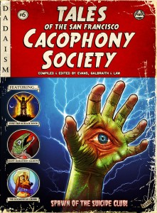 book cover - cacaphony