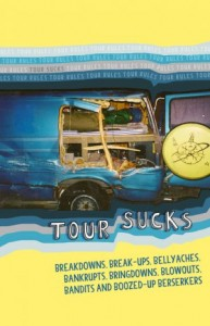 book cover - tour sucks