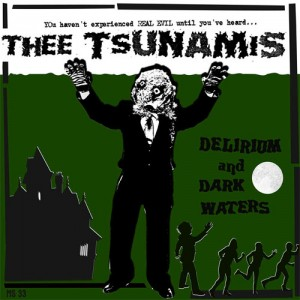 cover - thee tsunamis