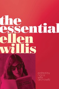 book cover - essential ellen willis