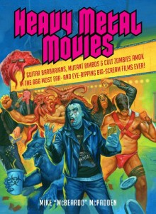 book cover - heavy metal movies