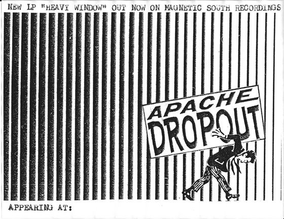 apache dropout flier