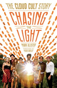 book cover - chasing the light cloud cult