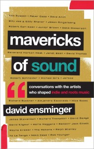 book cover - mavericks of sound