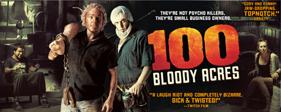 poster - 100 Bloody Acres