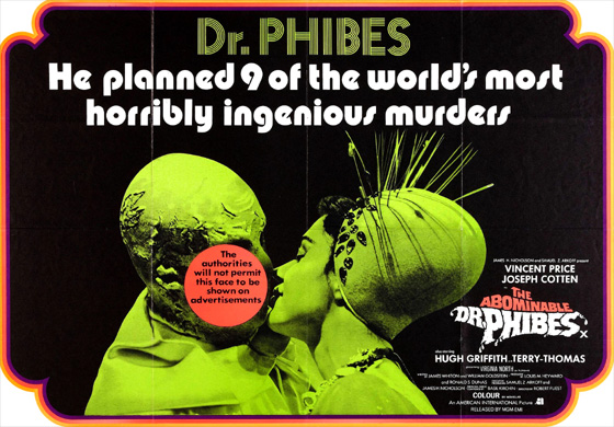 poster - Abominable Dr Phibes