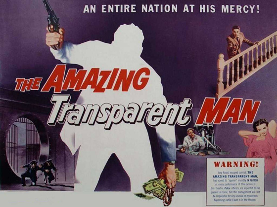 poster - Amazing Transparent Man