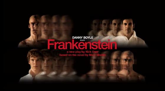 poster - Frankenstein (Boyle)