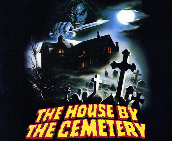 poster - House By the Cemetery