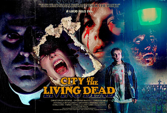 poster - The City of the Living Dead