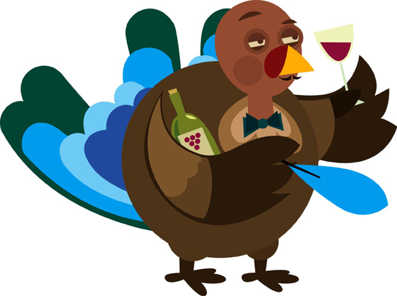 3 Turkey wine illustration