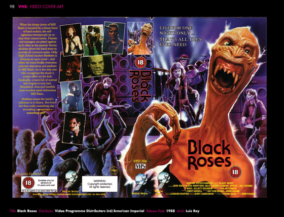 VHS - BlackRoses