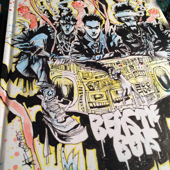 Jim Mahfood - Beastie Boys 'B-Boy Bouillabaisse' web