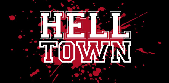 hell town logo