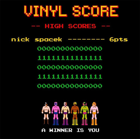 vinyl score