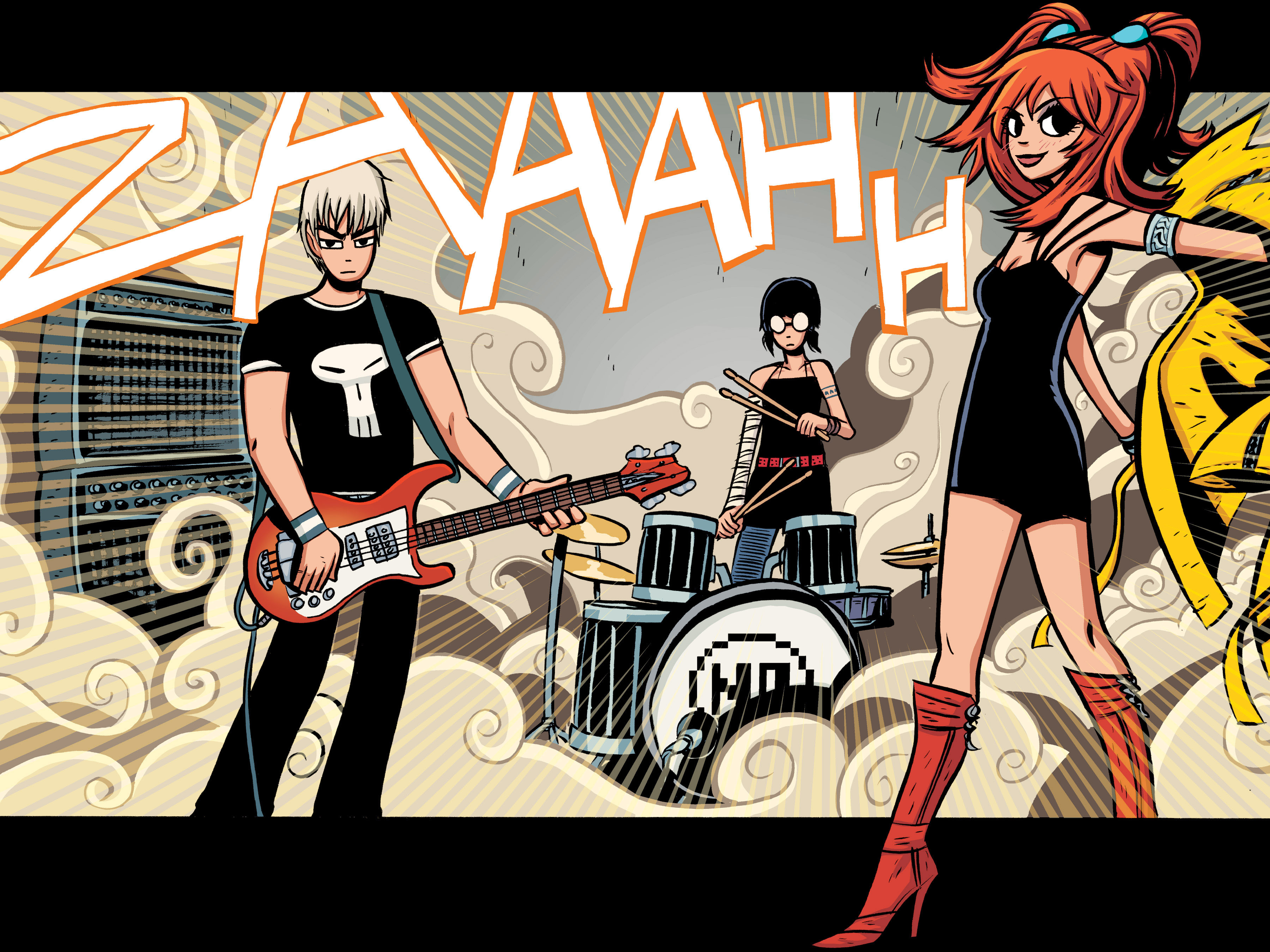 scott pilgrim - clash at demonhead o'malley